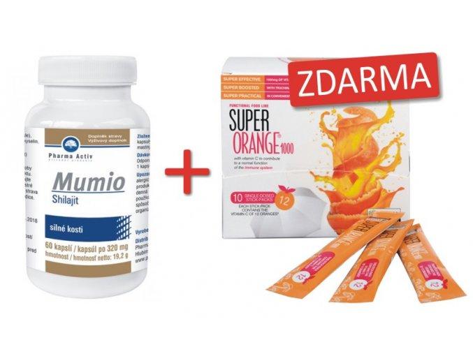 Mumio+super orange1000 ZDARMA