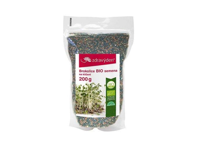 ZdravýDen® Brokolice BIO - semena na klíčení 200g