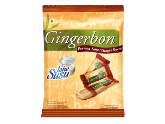Gingerbon Zázvorové bonbóny s příchutí mléka 100 g