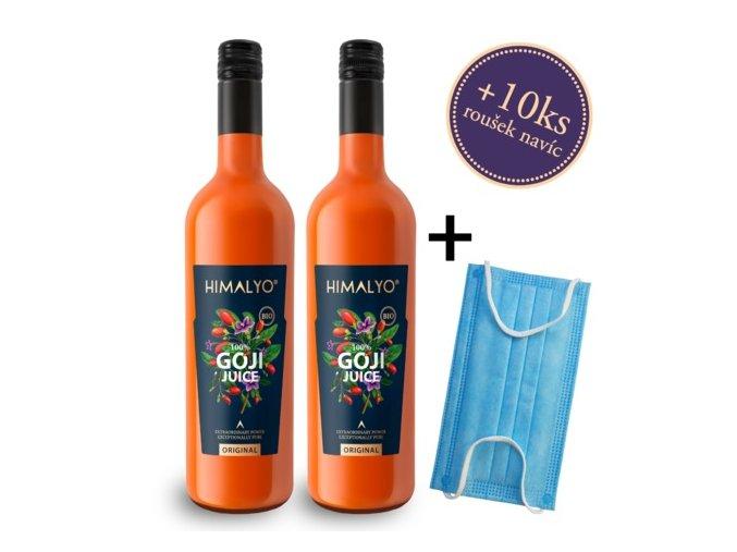 Himalyo Goji 100% BIO šťáva 2x 750 ml