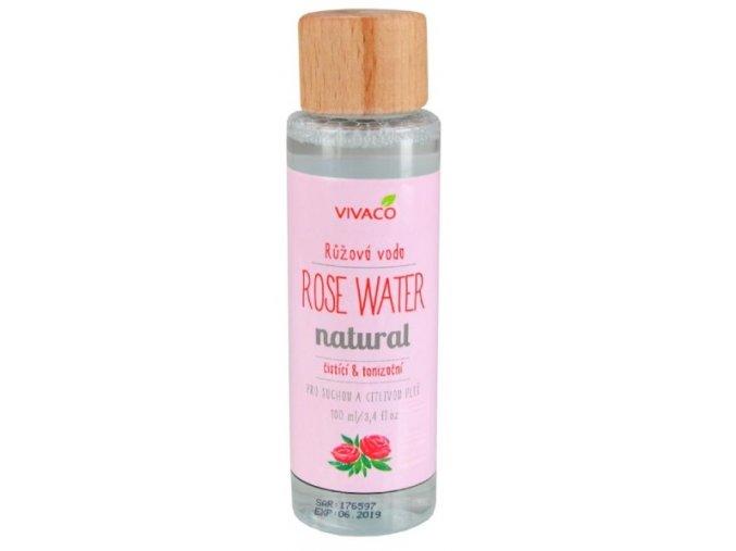 Vivaco Bio Růžová voda 100 ml