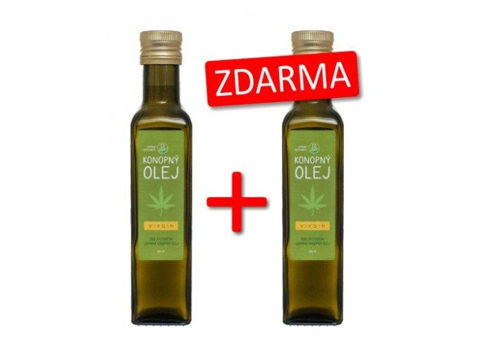 Konopný olej + konopný olej ZDARMA