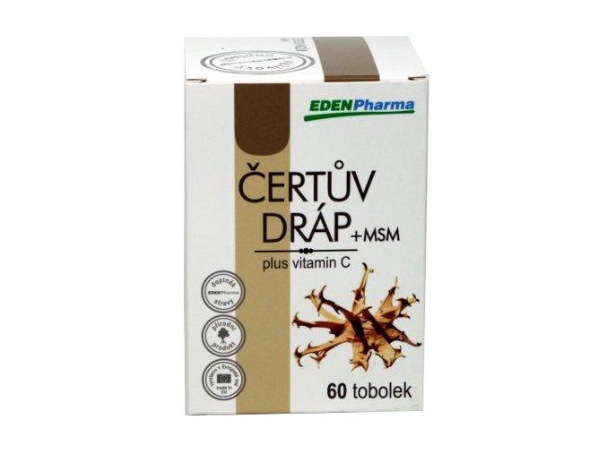 Edenpharma Čertův dráp + MSM cps 60