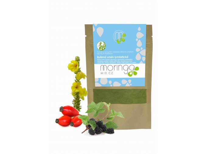 Moringa MIX Bylinná směs lymfatická 30 g