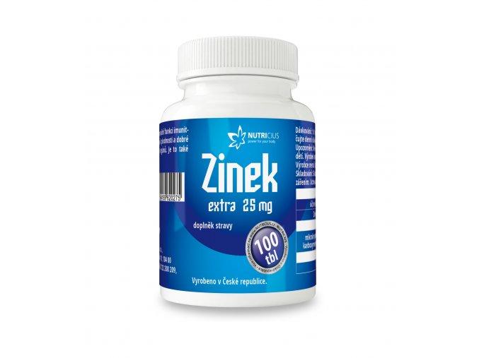 Nutricius Zinek EXTRA 25 mg 100 tbl.