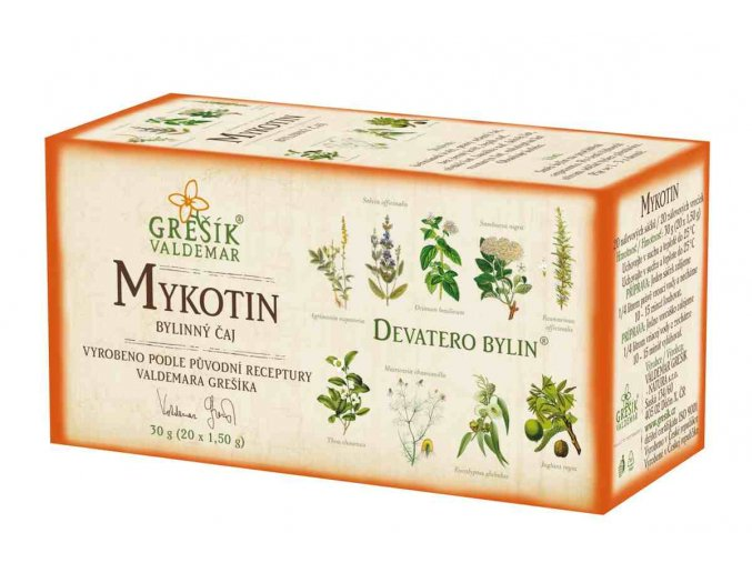 Grešík Mykotin čaj n.s.20 x 1,5 g Devatero bylin