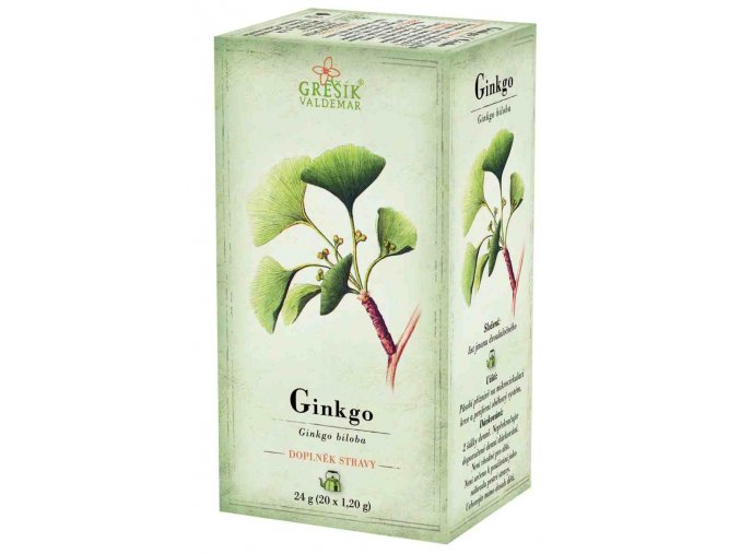 Grešík Ginkgo čaj n.s. 20 x 1,2 g Devatero bylin
