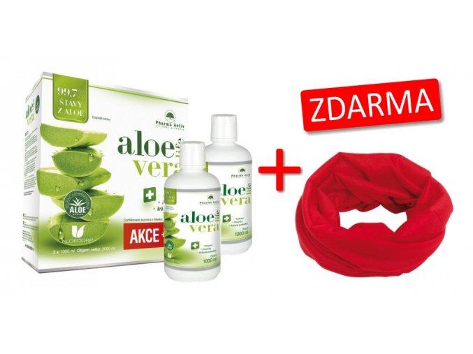 AloeVeraLife 1+1 ZDARMA (1000 ml + 1000 ml) + Šála ZDARMA