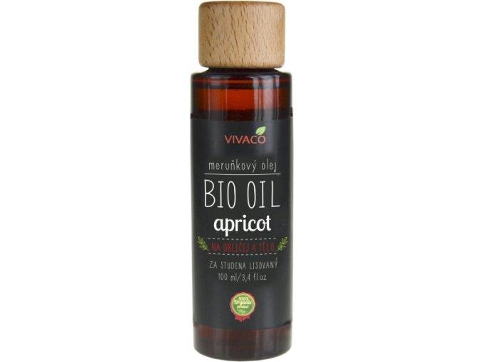 Vivaco Bio Meruňkový olej 100 ml