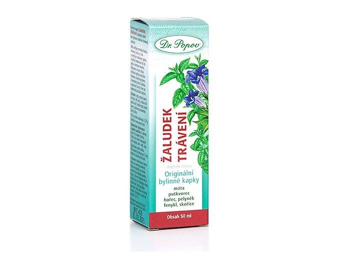 DR. POPOV  Žaludek – trávení bylinné kapky 50 ml