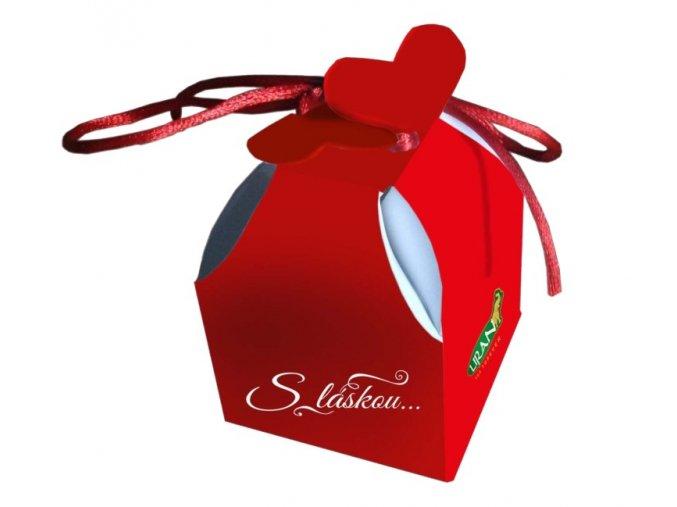 Liran S láskou Valentýnský čaj červené balení 2 g