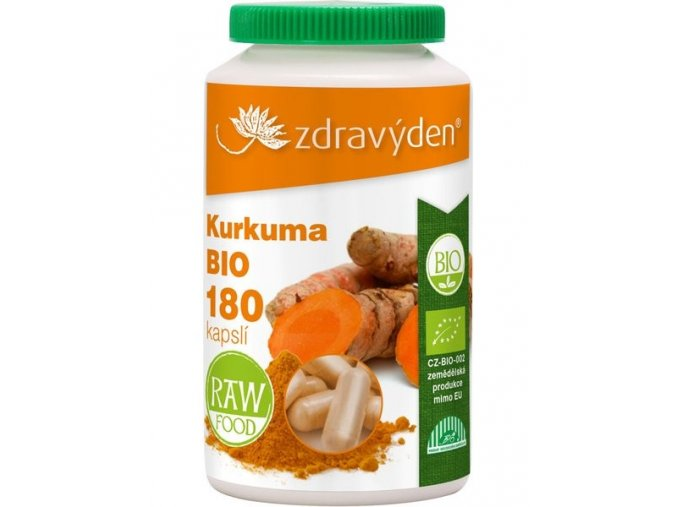 ZdravýDen® BIO Kurkuma180 kapslí