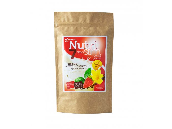 Nutricius NutriSlim Vanilka-Jahoda 210 g