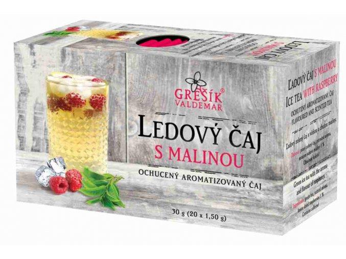 Grešík Ledový čaj s malinou n.s. 20 x 1,5 g