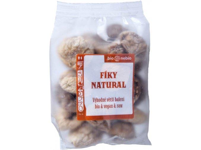 Bionebio BIO Sušené fíky Natural 300 g