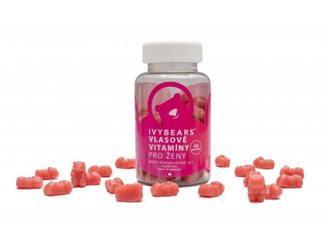 IVY Bears vlasové vitamíny pro ženy