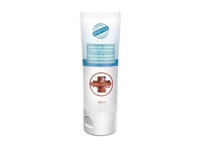 Antibakteriální gel tresen
