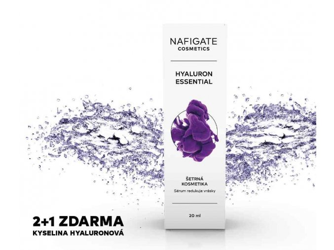 Nafigate Hyaluron Essential 2+1 ZDARMA (20 ml+20 ml+20 ml)