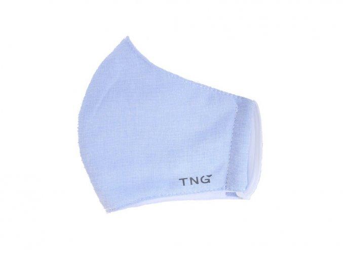 TNG Antibakteriální obličejová rouška z NANO materiálu, modrá, velikost S 1 ks