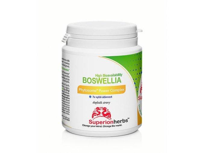 Superionherbs Boswellia Phytosome® Power Complex 90 kapslí