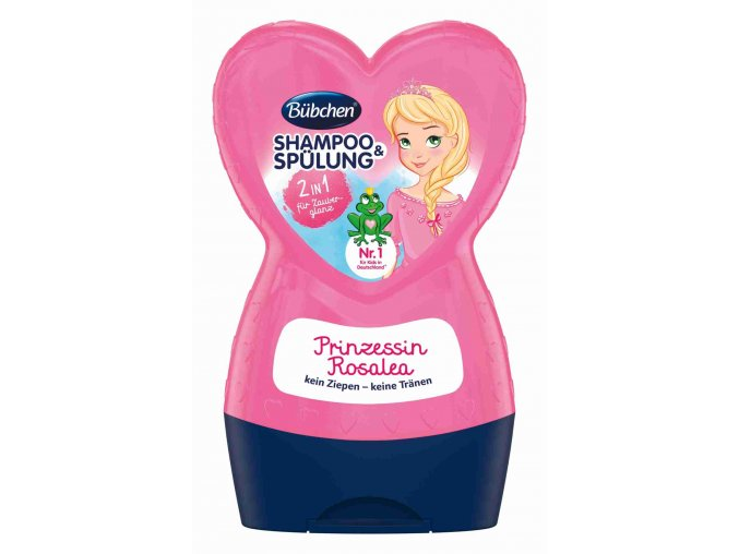 Bübchen Růženka šampon a kondicionér 2v1 230ml