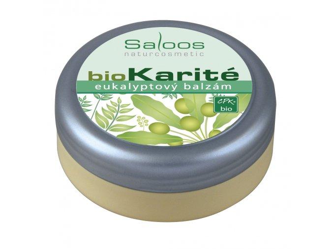 Saloos Bio Karité balzám - Eukalyptový