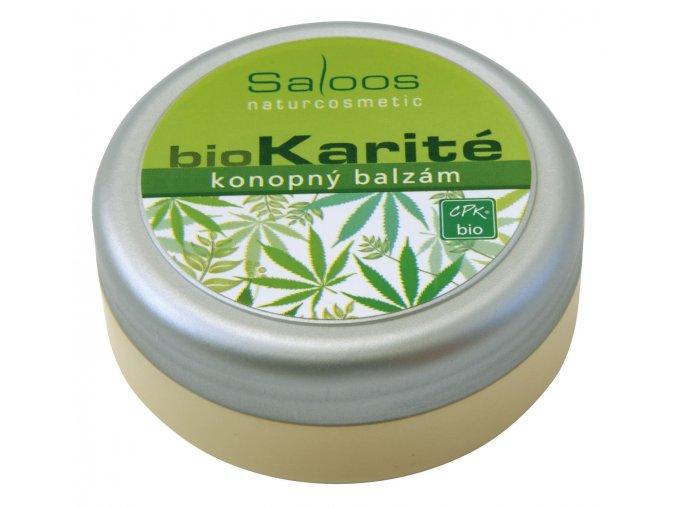 Saloos Bio Karité balzám - Konopný