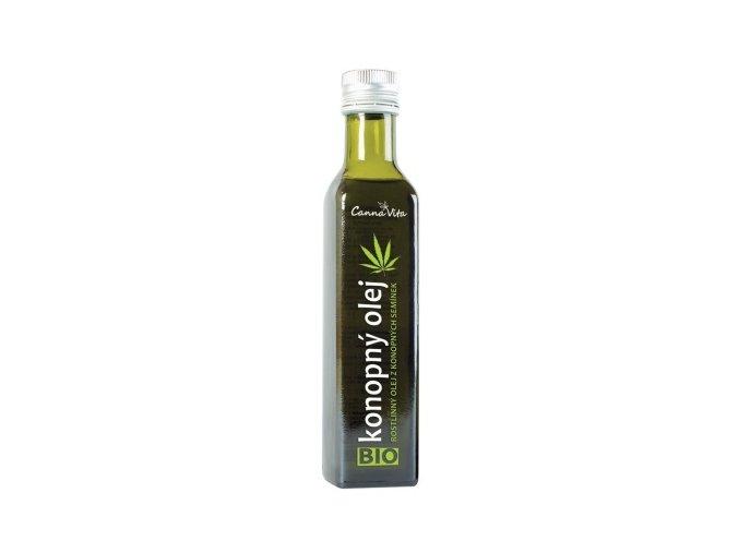 CannaVita Bio Konopný olej za studena lisovaný 250 ml