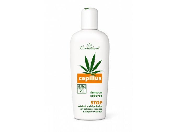 Cannaderm Seborea ošetřující šampon Capillus 150 ml