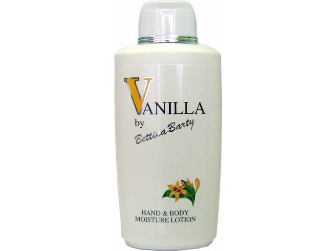 Bettina Barty tělové mléko Vanilla 500ml