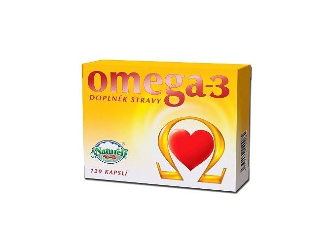 Naturell Omega-3 120 kapslí