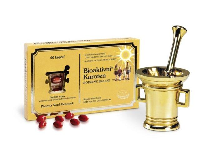 Pharma Nord Bioaktivní Karoten rodinné balení 90 kapslí