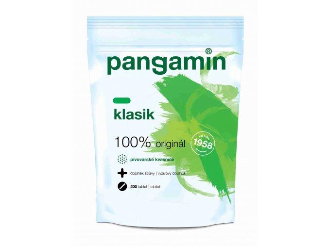 Pangamin se sladovým extraktem Klasik sáček 200 tbl.