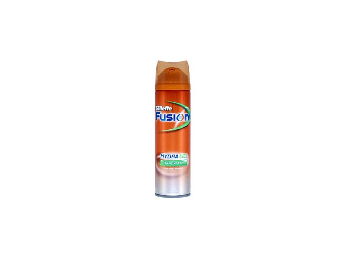 Gillette Fusion Hydra gel na holení pro citlivou pokožku 200 ml