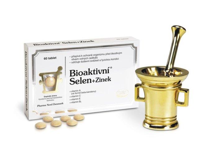 Pharma Nord Bioaktivní Selen + Zinek 60 tbl.