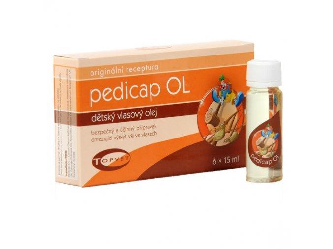 Topvet Pedicap OL - dětský vlasový olej ampulky 6x15 ml