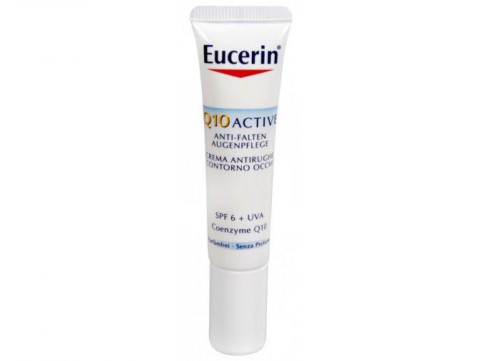 Eucerin Oční krém proti vráskám pro všechny typy citlivé pleti Q10 Active 15 ml