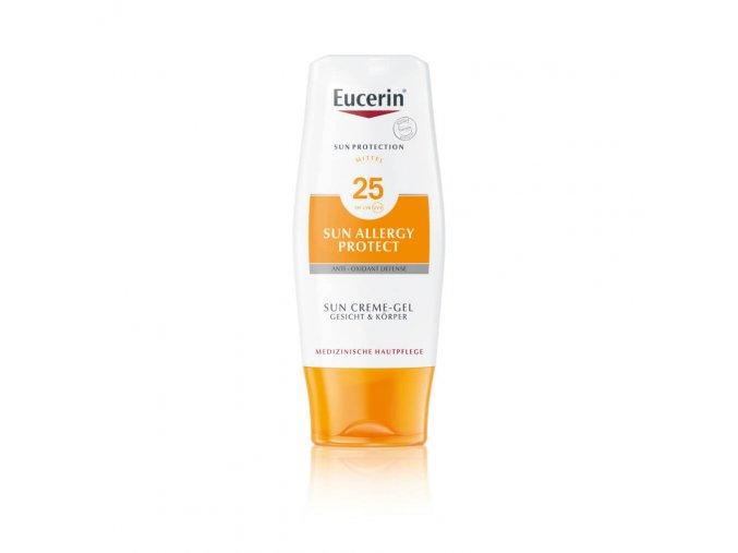 Eucerin Sun Ochranný krémový gel na opalování proti sluneční alergii SPF25 150ml