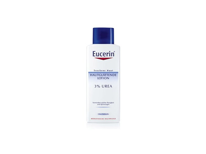 EUCERIN Zvláčňující tělové mléko pro suchou pokožku 3 % Urea 250ml