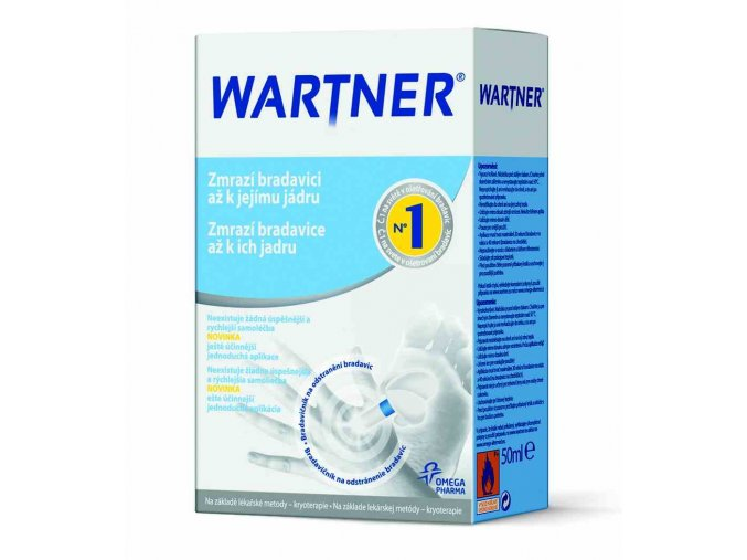 Omega Pharma Wartner Kryoterapie 2. generace na bradavice 50 ml
