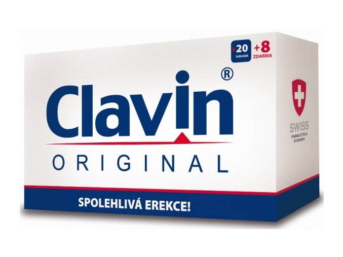 Simply You Clavin Original 20 tob. + 8 tob. ZDARMA