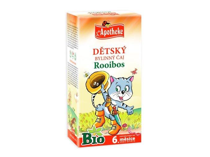 Apotheke Bio Dětský bylinný čaj Rooibos 20x1.5g