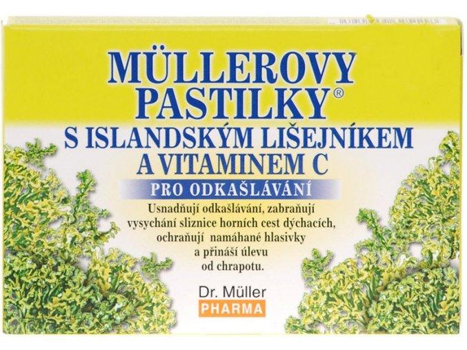 Dr. Muller Müllerovy pastilky s islandským lišejníkem 12ks