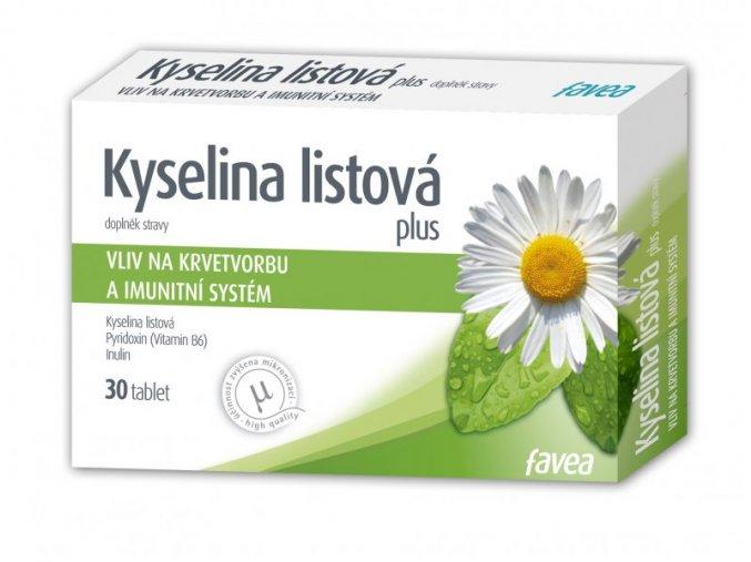 Favea Kyselina listová plus 30 tbl.