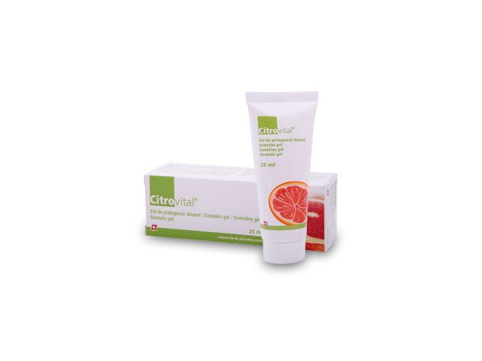 Herb Pharma Citrovital Dentální gel pro dospělé 25 ml