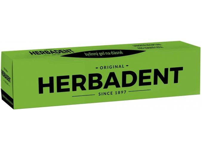 Herbadent Original bylinný gel na dásně 25 g