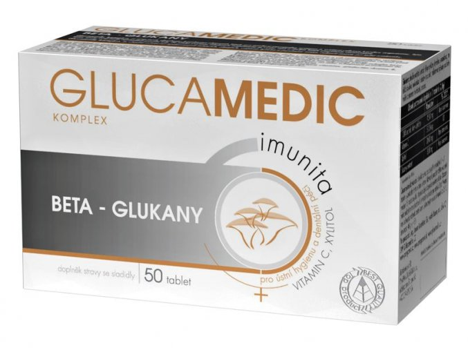 Glucamedic komplex 50 tbl.