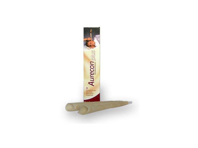 Herb Pharma Aurecon plus ušní svíčky 2ks