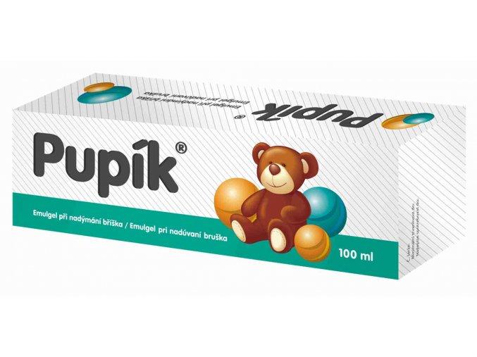 HBF Dětský emulgel proti nadýmání Pupík 100 ml