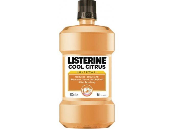 Listerine Ústní voda proti zubnímu povlaku Cool Citrus 500 ml